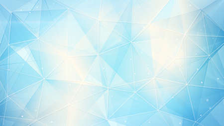light blue web. computer generated abstract geometrical background