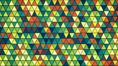 triangles: colorful glass triangles pattern. computer generated abstract background Stock Photo