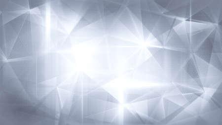 satined: glossy grey abstract background Stock Photo