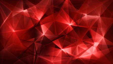 red abstract: dark red triangles network trendy abstract backgrund Stock Photo