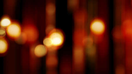 warm blurred lights abstract background