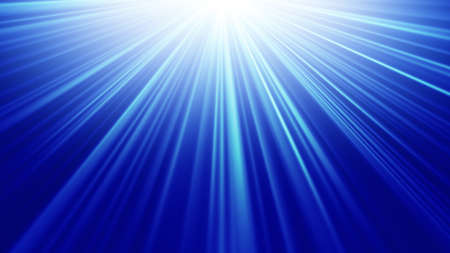 light rays: blue light rays abstract background
