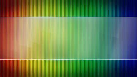 computer banner: colorful stripes and blank banner. Computer generated abstract background