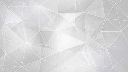 Weiße Dreiecke und Linien. Computer generiert abstrakte geometrischen Hintergrund Standard-Bild - 44913164