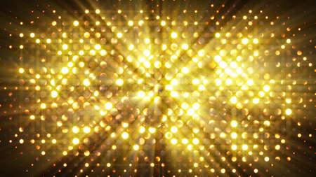 Blitzlichter Disco Wand. Computer gefertigt absrtact Hintergrund Standard-Bild - 46405704