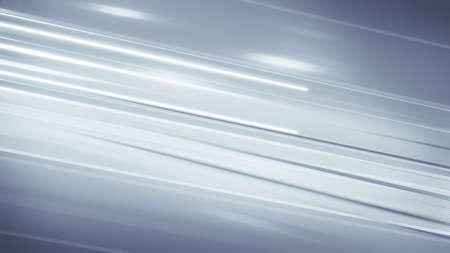 モーション ブラーのグレーの線。コンピューター生成された抽象的な背景