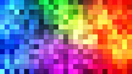 the computer generated: colorful tiles mosaic. computer generated abstract background