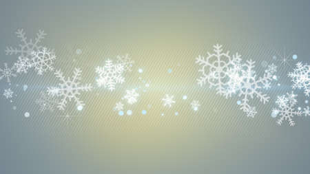 the computer generated: christmas snowflakes. computer generated christmas background Stock Photo