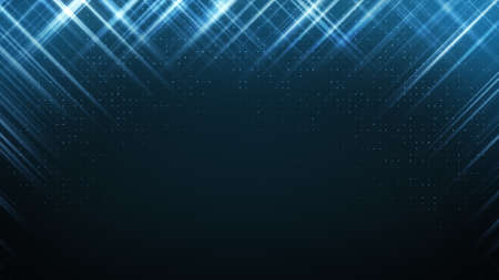 lustre: abstract technology background. computer generated graphic