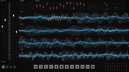 flauta dulce: interfaz gráfica de usuario expediente del sonido