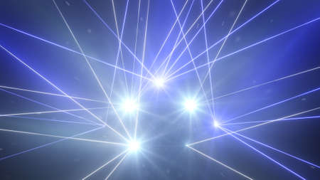 laser light: laser light show. computer generated abstract background Stock Photo