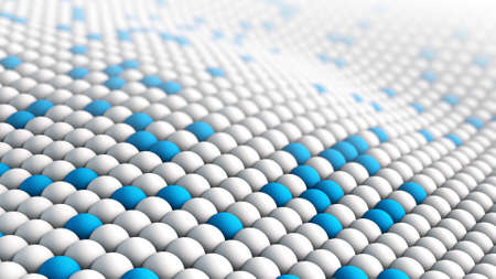 vibrating: Macro texture abstract 3D rendering Stock Photo