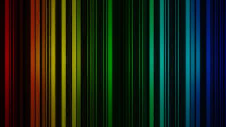 lineas verticales: Brillando l�neas verticales de colores. fondo representaci�n abstracta 3D Foto de archivo