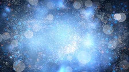 staub: Fairy Staub langsam fliegen. Computer generierte abstrakte Magic Hintergrund
