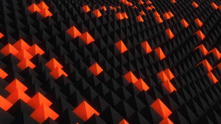 nano: Nano surface. Abstract  3D render background
