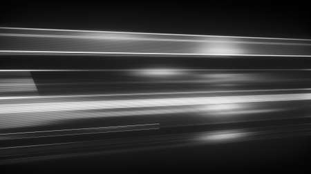 fast computer: Light streaks with motion blur. Computer generated abstract futuristic background Stock Photo