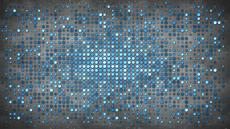 Flashing circle light bulbs. Disco party and nightclub concept. Computer generated absrtact background