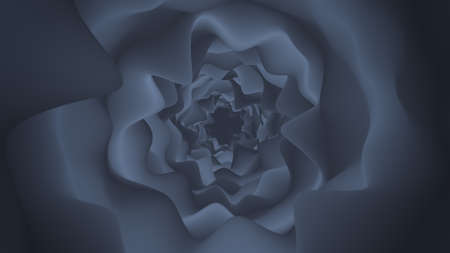 Gray portal. Abstract 3D render background 免版税图像
