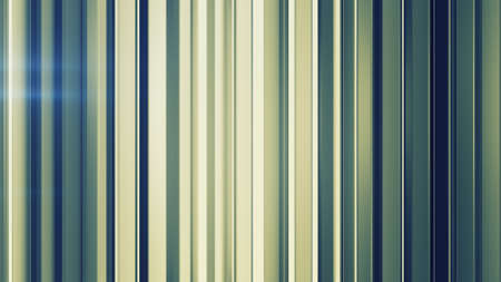 Rotating vertical bars. Computer generated abstract background. 3D render 免版税图像