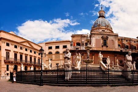 palermo   italy: The photo was taken in september 2010 in Palermo  Italy