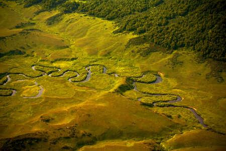kamchatka: Penisola di Kamchatka Archivio Fotografico