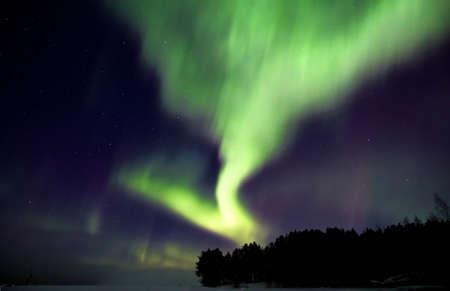 aurora borealis: Aurora borealis, White Sea, Russia