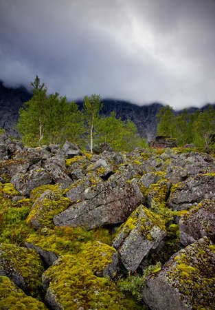 Hibiny mountains (Russia) photo