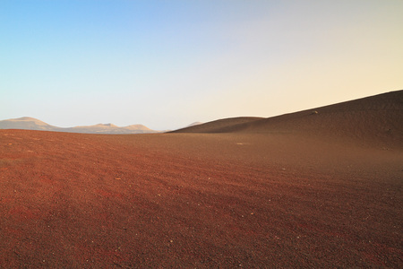 timanfaya natural park: The famous Timanfaya National Park in Lanzarote, Canary Islands, Spain. Known for its impressive lava plains and volcanic landscapes.