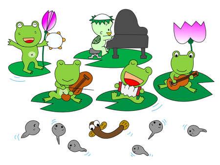 tadpole: Performance of frog