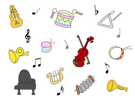 instrument practice: Musical instrument Illustration