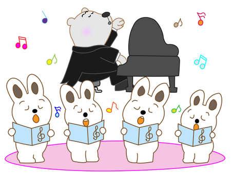 chorus: Rabbit chorus