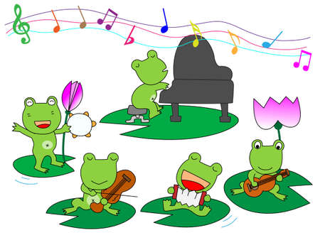 fairyland: Performance of frog