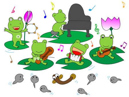Concert of frog