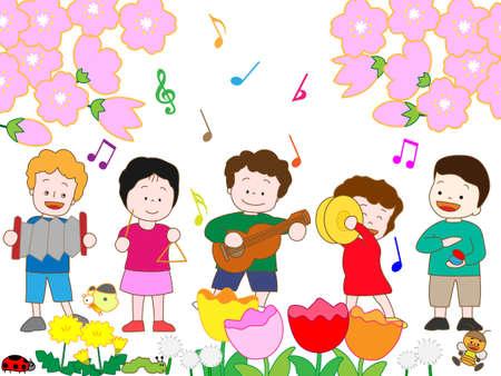 castanets: Concert of spring