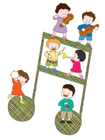 recital: Music recital Illustration