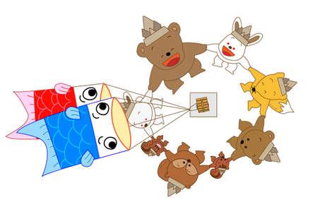 Children's Day Ilustrace