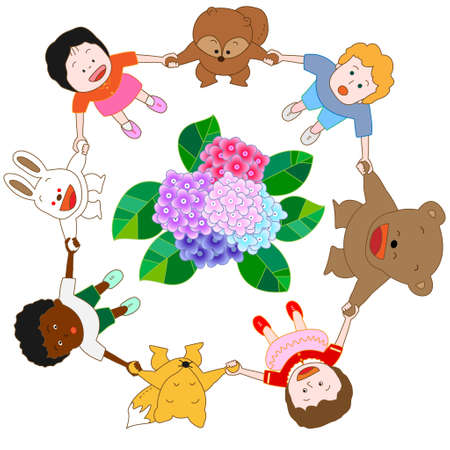 children s book: The advent of the rainy season