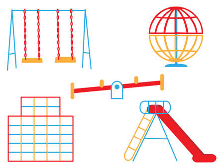 jungle gyms: Play equipment