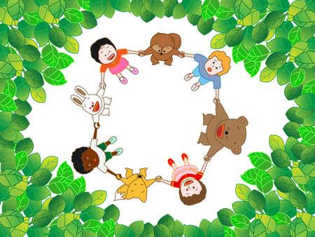 wakaba: Fresh green of season Illustration