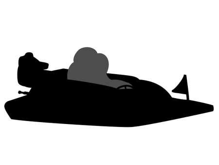 caffe: Boat race Illustration