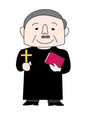 catholic mass: Priest