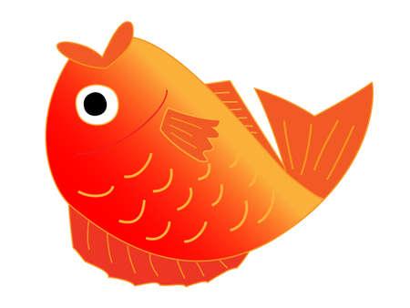 bream: Sea bream Illustration