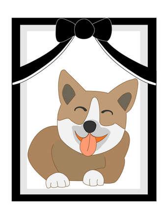 deceased: Pet portrait Illustration
