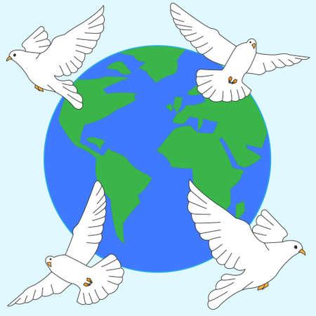 paix monde: Je souhaite pour la paix mondiale