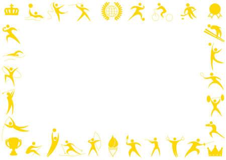 スポーツのための卒業証書用紙 写真素材 - 39993903