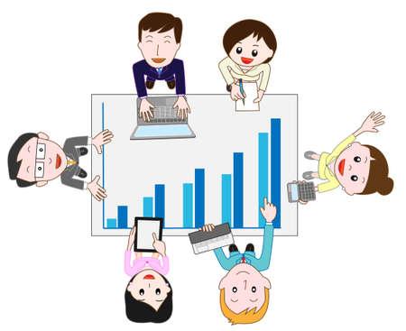 vocational: businessimage Illustration