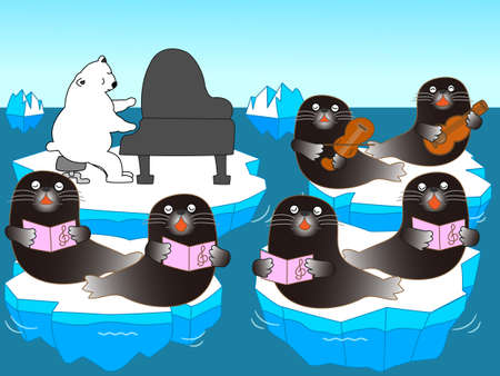 natural ice pastime: music