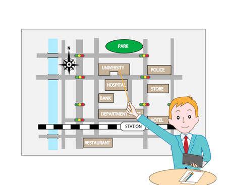 vocational: Presentation of business