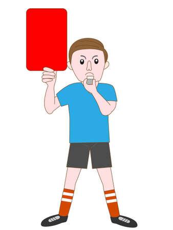 penal: soccer Illustration