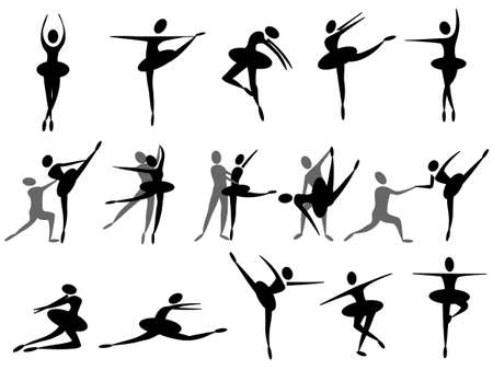 ballet icon 向量圖像